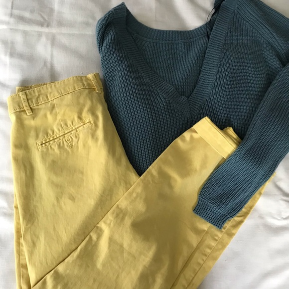 Anthropologie Pants - Chino by Anthropologie chinos 💫 Spring Fav. Sz 28